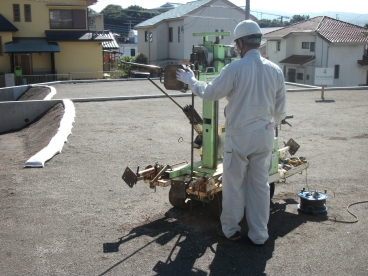 (ご紹介案件)地盤調査・地盤改良施工業